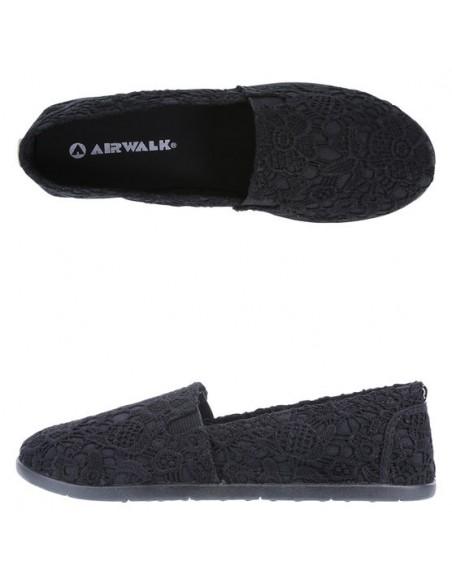 Zapatos sin cordones Dream para mujer - Negro