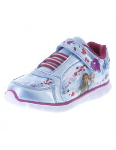 Zapatos para correr Frozen para niñas pequeñas azul de Payless