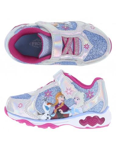 25b2ab2c79d Zapatos para correr Frozen para niña pequeña