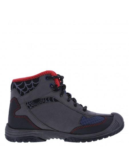 Zapatos hiker Spiderman para niños