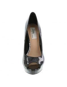 af99c7ac9758a ... Zapatos Sofía Vergara Peep Toe Plataforma - Negro 2