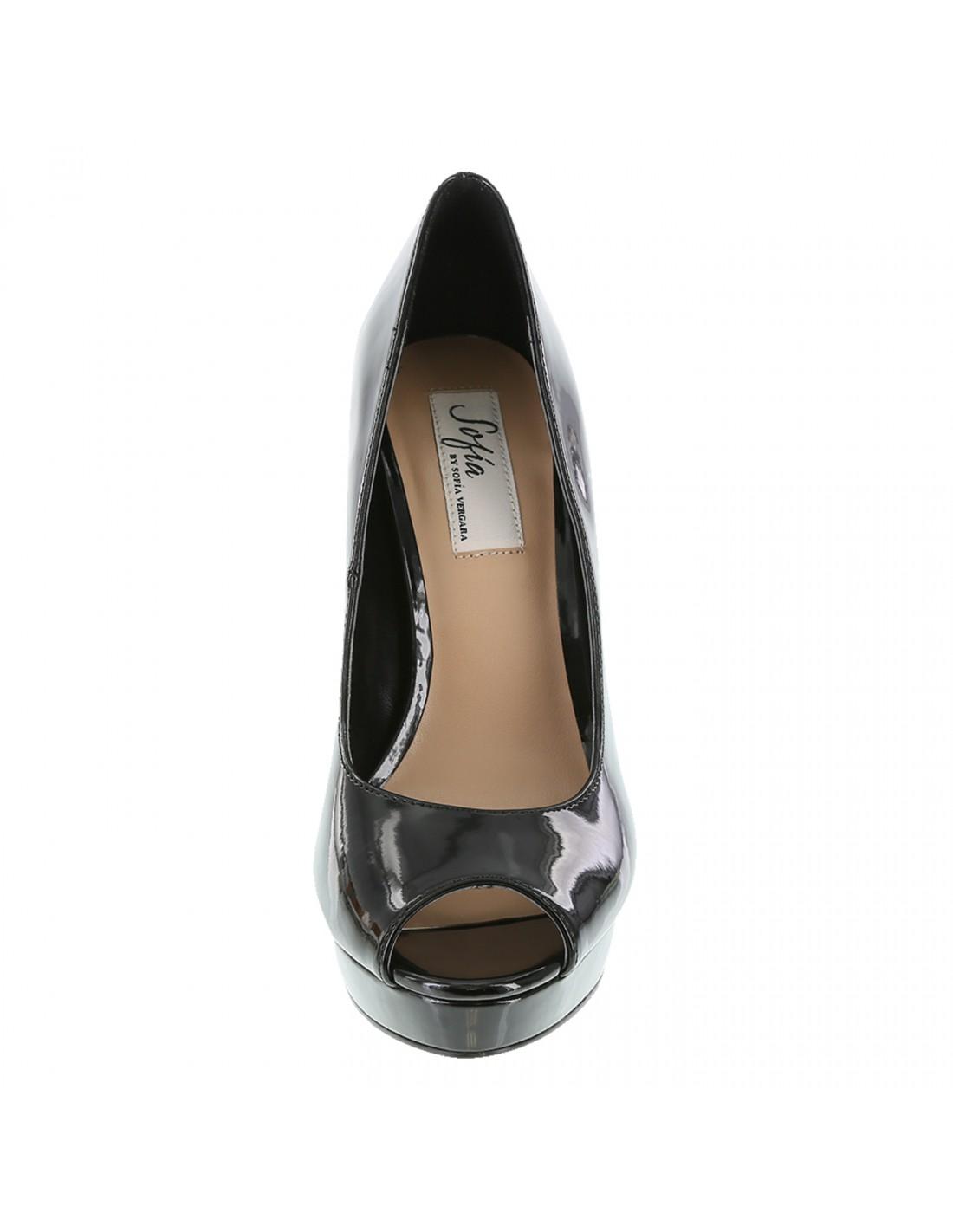 e7bb72aff75 Zapatos Sofía Vergara Peep Toe Plataforma - Negro. ¡En oferta! Previous