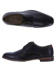 Zapatos Oxford Simon para hombre - Negro