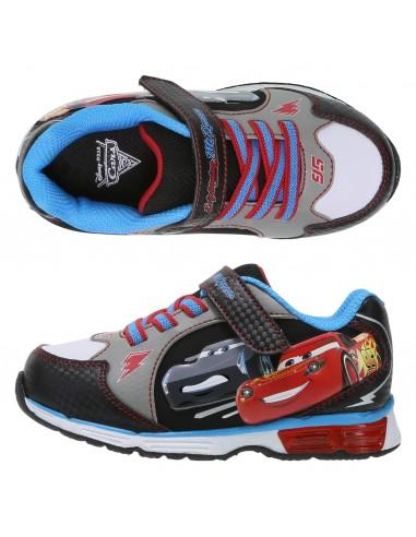 20ac6e33883 Zapatos para correr con luces de Cars 3 para niño pequeño