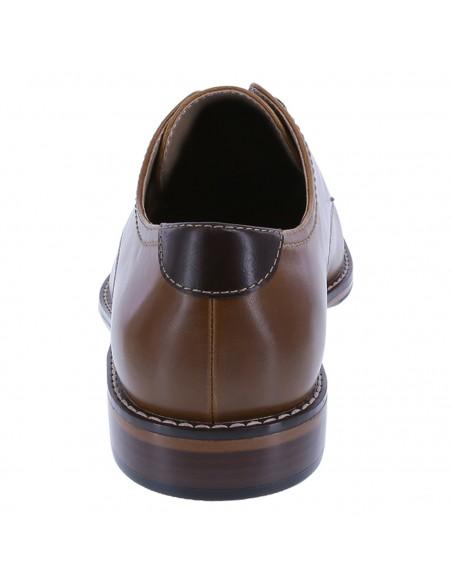 Zapatos Oxford Simon para hombre - Cognac