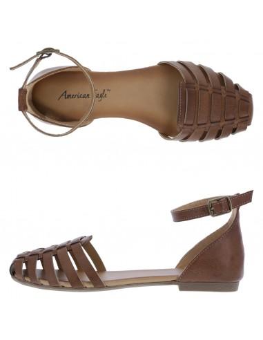Zapatos planos de tiras de 2 pz. Peyton para mujer