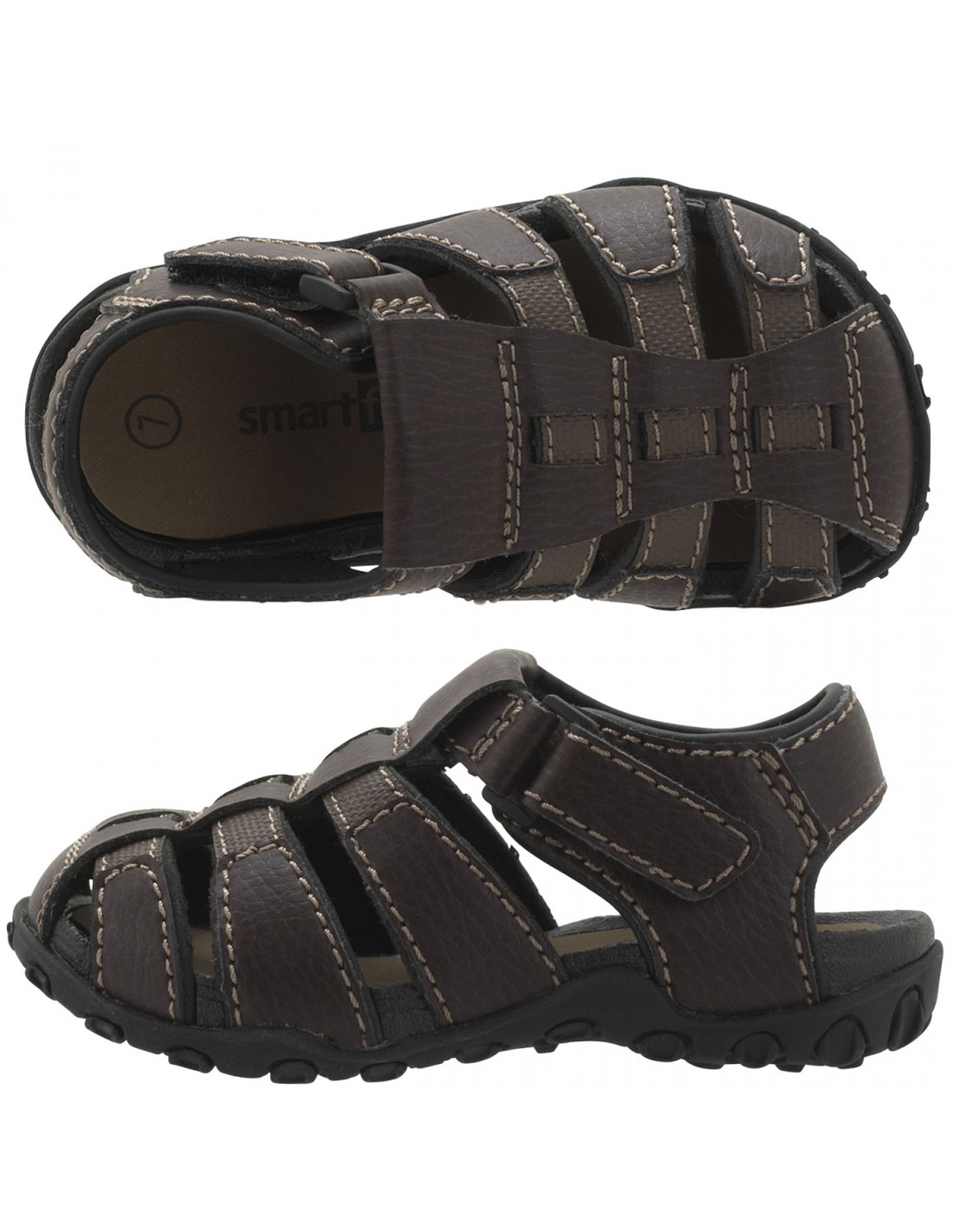 341f92da1a87 Boys  Toddler Livingston Fisherman sandals - Brown
