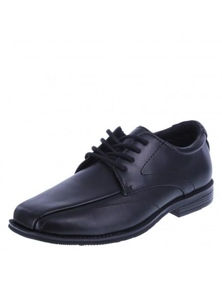 Zapatos De Vestir De Punta Cuadrada Para Niño