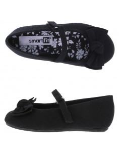 Zapatillas de ballet Anna para niña - Negro