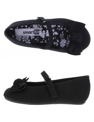 71d83041c2b1 Girls  Toddler Anna Wrap Ballet shoes - Black