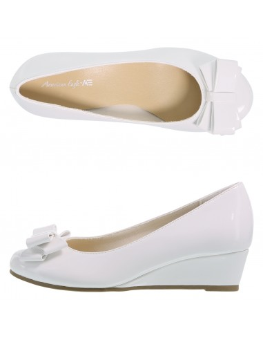 2cb24db4eb Zapatos de cuña de vestir con plataforma de charol Mairin para niña