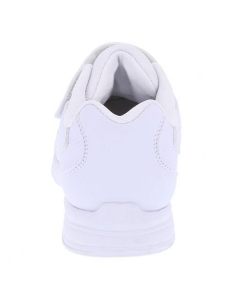 Zapatos deportivos con tira Hutch para niño - Blanco